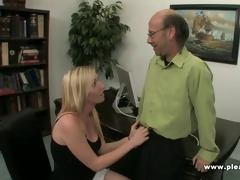 young whore fucks mature boss