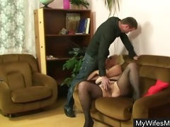 wife saw her mom fucking with hubby