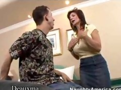 deauxma gets her ass fucked by a youthful stud