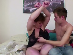 german mom get wake up by juvenile chap and anal
