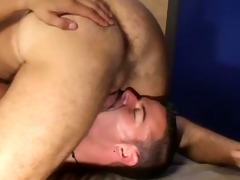 sexy daddy gives massage
