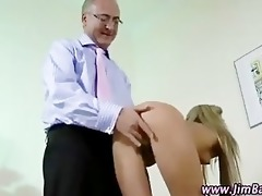 older guy fucking younger girl
