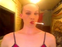 hot bitch smokin marlboro reds
