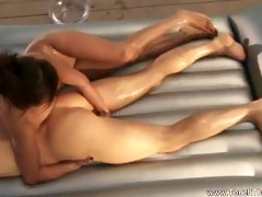 oily nuru massage for him