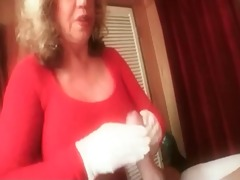 granny cook jerking #4 (dirty talking) such a