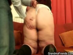 older plumper takes rods