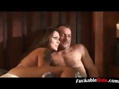 juvenile slut acquires cum in her face hole p1