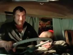 2 boyz fucking a girl in van (vintage)