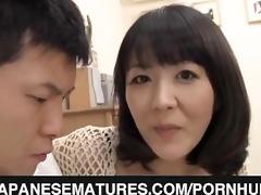 obscene mamma enjoys younger penis