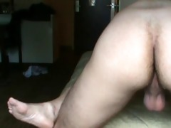 breeding a hot young man in his hotel room
