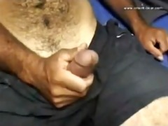 this attractive unshaved big pecker daddy is
