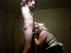 d like to fuck giving a younger chap a blowjob in