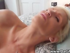 toy in the ass, jizz in the face